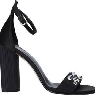 Sandály 1467 Černá