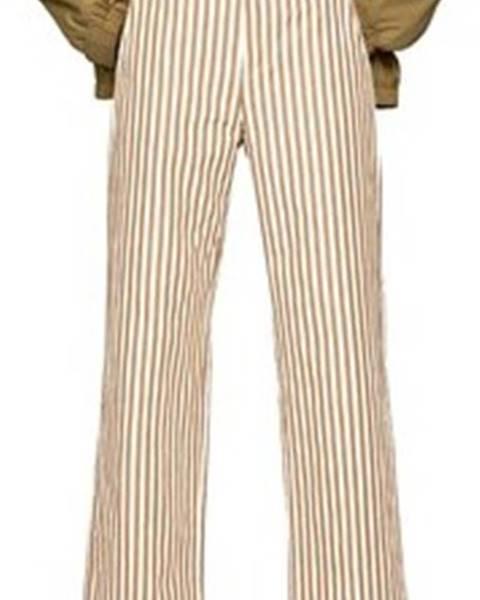 Béžové kalhoty pepe jeans