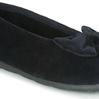Papuče 97258 Černá