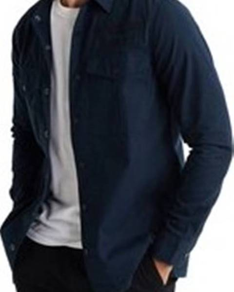 Modrá košile superdry