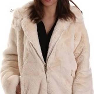 Kabáty 4431600/D Bílá