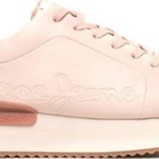 Pepe jeans Tenisky PLS30994 Růžová