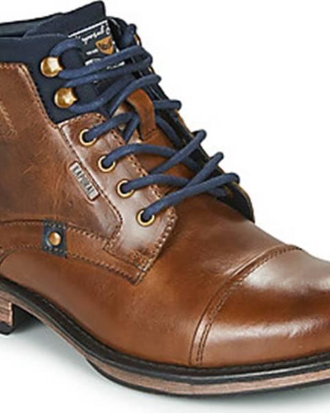 Hnědé boty Kaporal