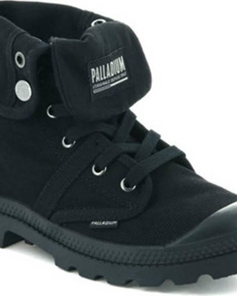 Černé kozačky Palladium