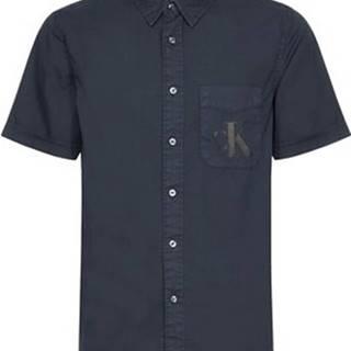 Košile s krátkými rukávy J30J315223 Černá