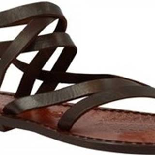 Sandály 574 T. MORO Hnědá