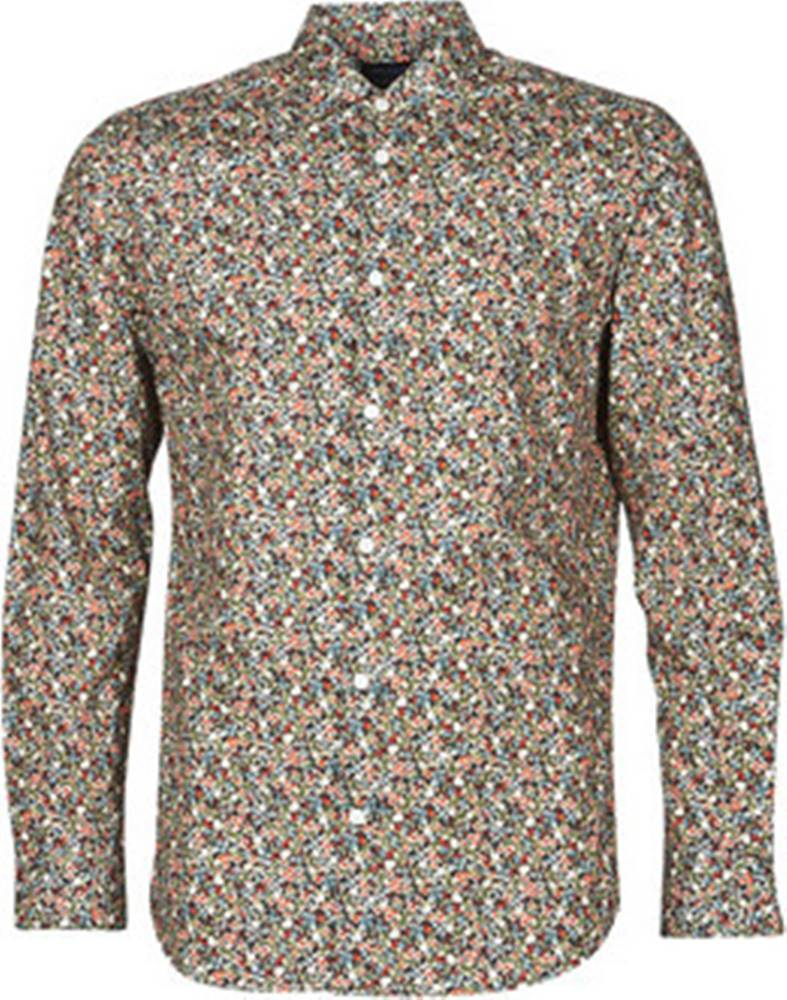 SELECTED Košile s dlouhymi rukáv SLHREGPEN HUNTER ruznobarevne