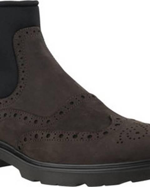 Černé boty Hogan