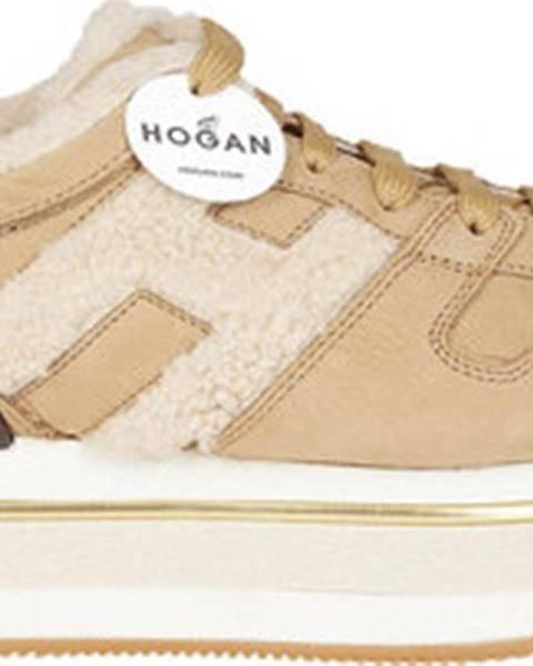 Béžové sandály Hogan