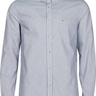 Košile s dlouhymi rukáv SALOMEA Modrá