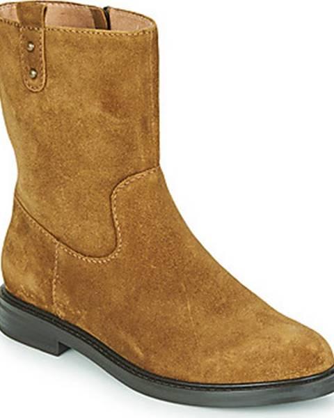 Hnědé boty Karston