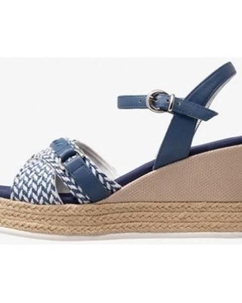 Modré sandály u.s. polo assn.