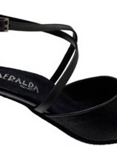 Černé boty Angela Calzature