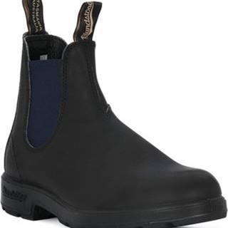Kotníkové boty 1917 ELSIDE BOOT NAVY Černá
