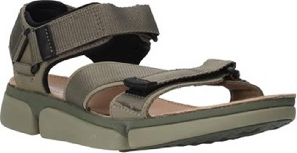 Clarks Sandály 26139564 Zelená