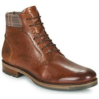 Kotníkové boty BAXTER 51 Hnědá