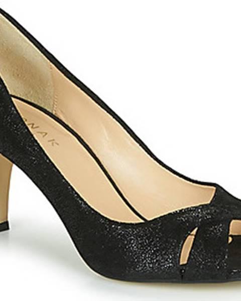 Černé sandály Jonak