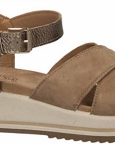Béžové sandály Enval