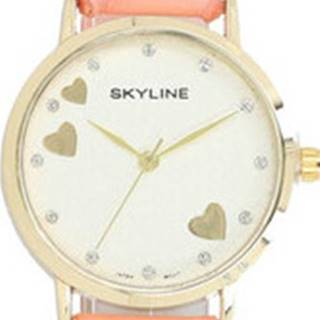 Ručičkové hodinky Náramkové dámské hodinky s kamínky Quartz 9300-8 ruznobarevne
