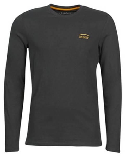 Černé tričko Oxbow