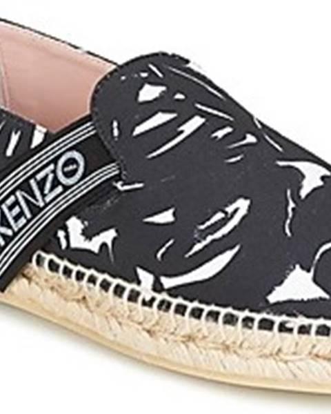 Černé espadrilky Kenzo