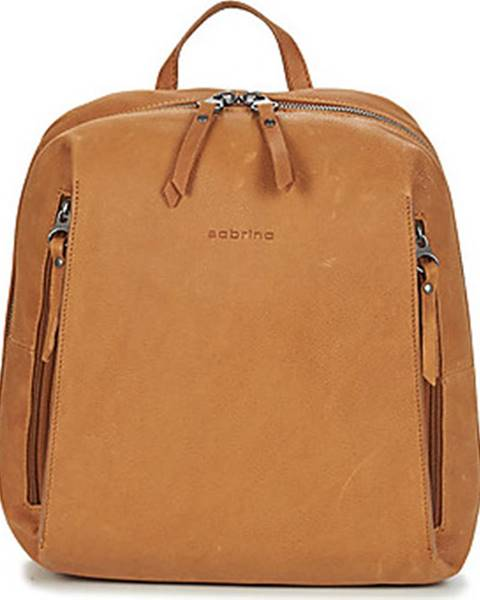 Hnědý batoh Sabrina