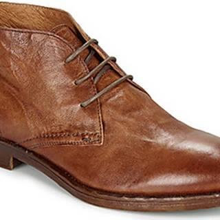 Kotníkové boty DANDY 17 Hnědá