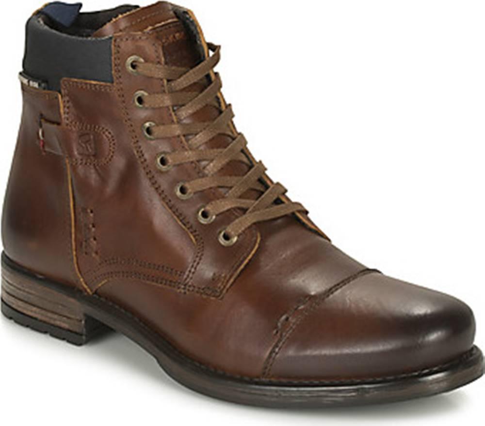 Redskins Kotníkové boty YOUN Hnědá