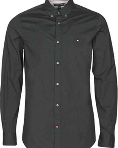 Černá košile tommy hilfiger