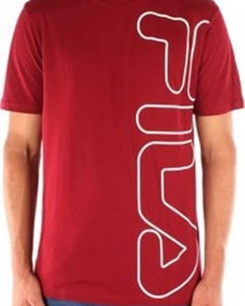 Červené tričko new balance