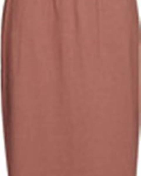Hnědé šaty vero moda