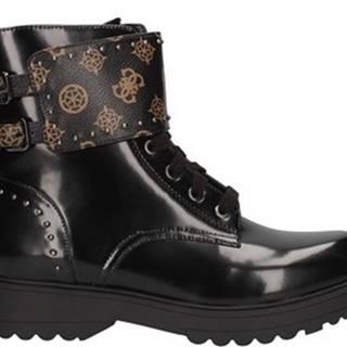 Kotníkové boty Fl7wanfal10 Černá