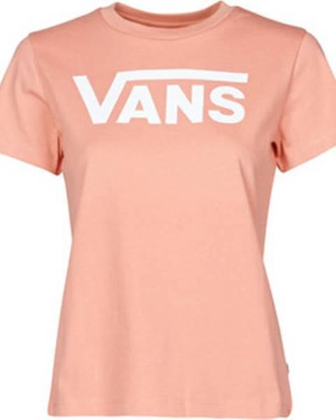 Růžový top vans