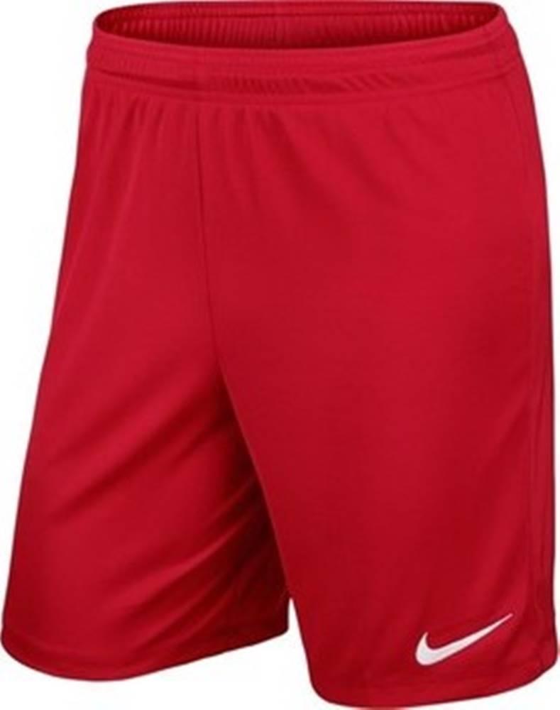 nike Kraťasy & Bermudy Park II Knit Short Drifit Červená