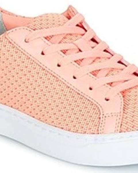 Růžové tenisky lacoste