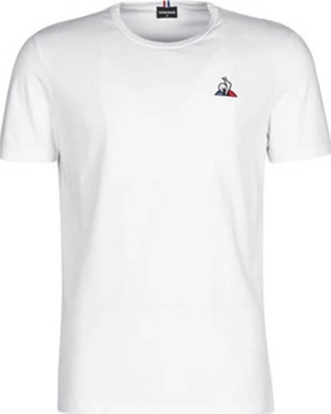 Bílé tričko Le Coq Sportif