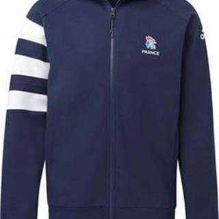 adidas Teplákové bundy Mikina French Handball Federation Modrá