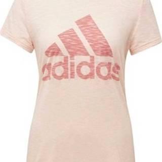 adidas Trička s krátkým rukávem Tričko Must Haves Winners Růžová