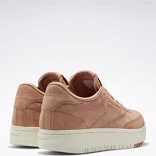 Módní tenisky Club C Double Shoes Hnědá