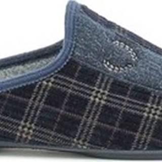 Papuče 5604 Modrá