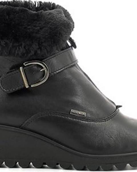 Hnědé boty Enval