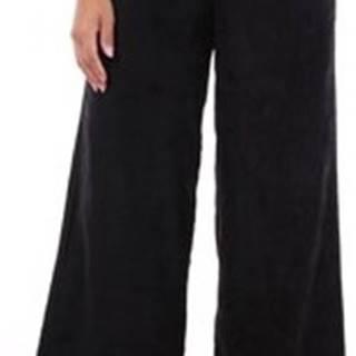 Ležérní kalhoty BV04VSKHZ00STD Černá
