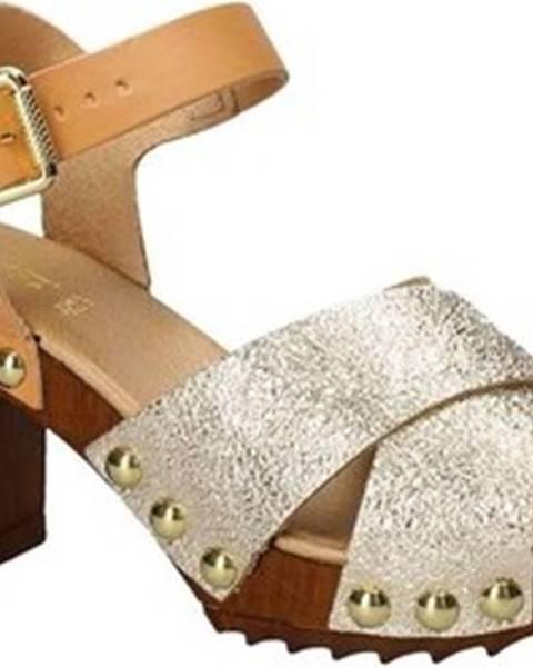 Žluté sandály Keys