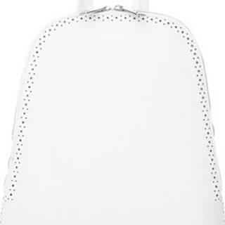 Batohy Bílý dámský batůžek / kabelka se dvěma oddíly ruznobarevne