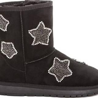 Zimní boty B19 GJ218 Černá