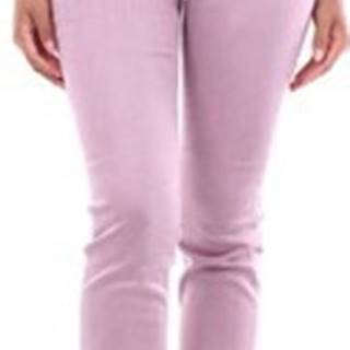 Kapsáčové kalhoty OA24VTANZ00DEN Růžová