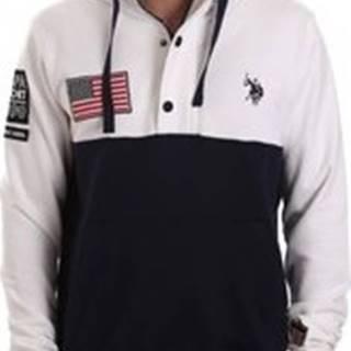 U.S Polo Assn. Mikiny 52566 51907 Bílá