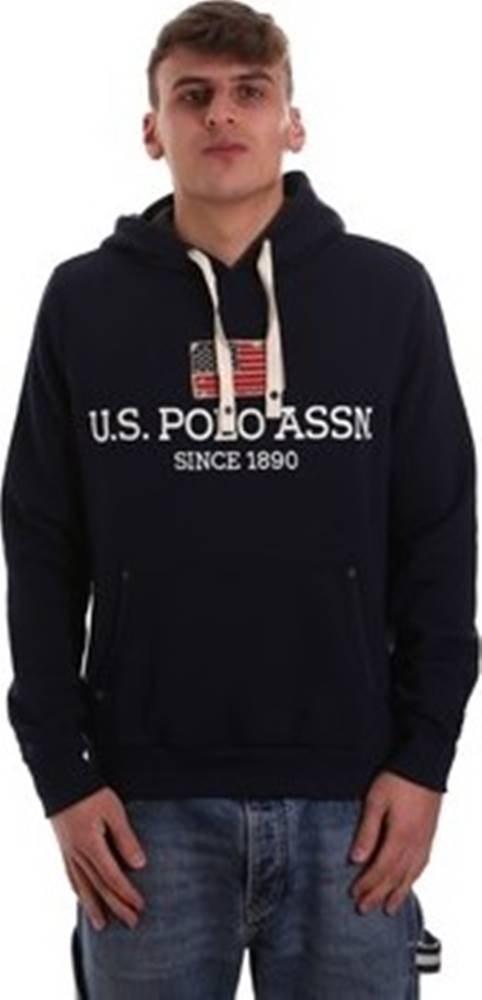 u.s. polo assn. U.S Polo Assn. Mikiny 52661 49151 Modrá