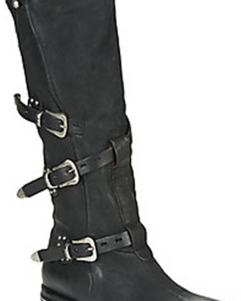 Černé kozačky Airstep / A.S.98