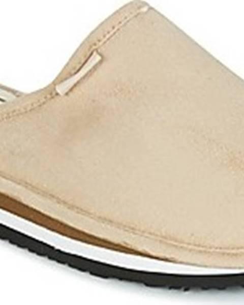 Béžové domácí boty Cool Shoe